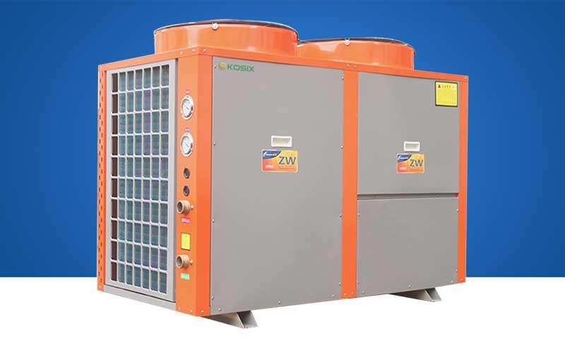 高温热泵热水机 热泵热水器商用机 85度高温空气能热泵热水机组 印刷染布屠宰热水机