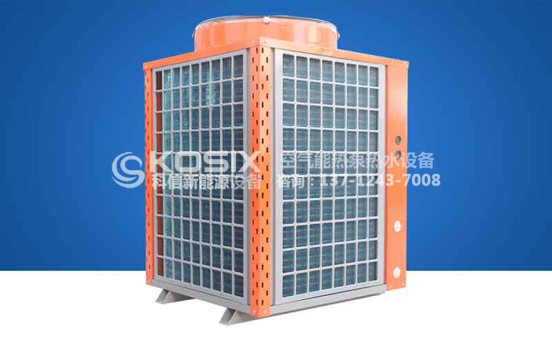 家用空气源热泵采暖机 6匹热泵采暖系统 北方低温家用6匹空气能热泵采暖方案 空气源热泵采暖系统图