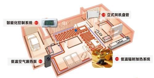 家用空气源热泵采暖施工图 01