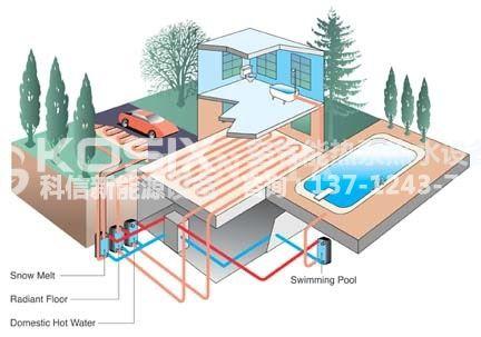 家用空气源热泵采暖施工图 02
