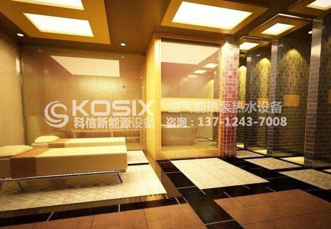 东莞3好酒店热泵热水工程案例-东莞热泵热水工程