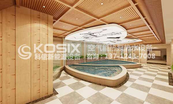 泳池热泵热水工程方案,空气源泳池、恒温池空气能热泵热水工程解决方案