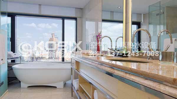 东莞热泵热水器商用机工程,商务酒店热泵热水系统工程