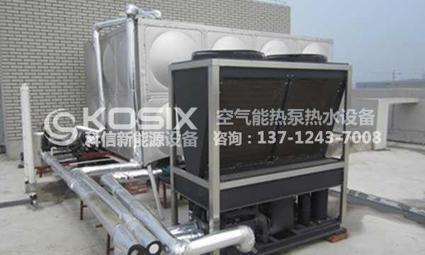 空气能热泵采暖案例,北方空气源热泵采暖案例